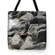 Waves And Rocks 4 Tote Bag