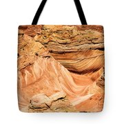 Waves And Twists Tote Bag