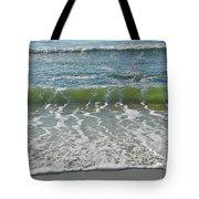 Waves At 7 Am Tote Bag