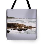 Waves Pounding Costa Maya, Mexico Tote Bag