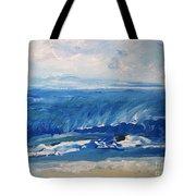 Waves At West Cape May Nj Tote Bag