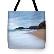 Waves Breaking At Murder Hole  County Tote Bag