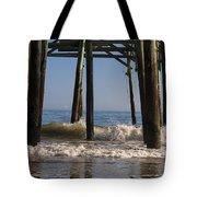 Waves Crash In Tote Bag