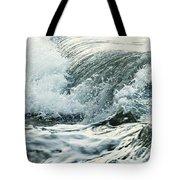 Waves In Stormy Ocean Tote Bag
