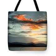 Waves In The Clouds Tote Bag
