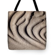 Waves Of A Desert - Mesquite Sand Dunes Tote Bag