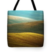 Waves Of Colours Tote Bag