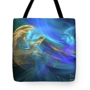 Waves Of Grace Tote Bag