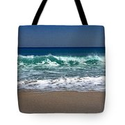 Waves Of Happiness  Tote Bag