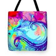 Waves Of His Love Tote Bag