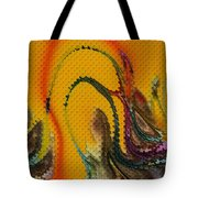 Waves Of Music Tote Bag