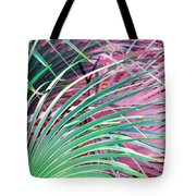 Waves Of Palm Tote Bag