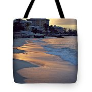Waves Of Sunlight Tote Bag