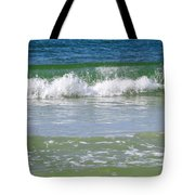 Waves Of The Gulf Of Mexico Tote Bag