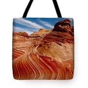 Waves Of Time Tote Bag