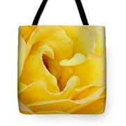Waves Of Yellow Tote Bag by Sabrina L Ryan