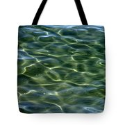 Waves On Lake Tahoe Tote Bag