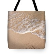 Waves On The Beach Tote Bag