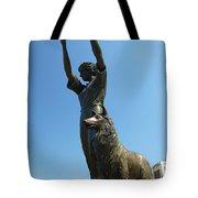 Waving Girl Savannah Georgia Tote Bag
