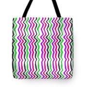 Wavy Stripe Tote Bag