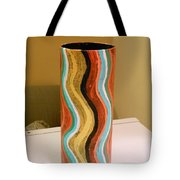 Wavy Vase Tote Bag
