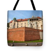 Wawel Royal Castle In Krakow Tote Bag