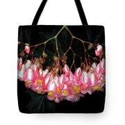 Wax Begonia Tote Bag