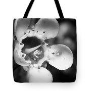 Wax Flower Tote Bag