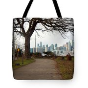 Way To Downtown Tote Bag