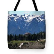 Way Up High - Hurricane Ridge - Washington Tote Bag