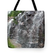 Wayside Waterfall - Acadia Np Tote Bag