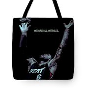 We Are All Witness Tote Bag