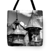 We Are Not In Kansas Anymore II Bw Tote Bag