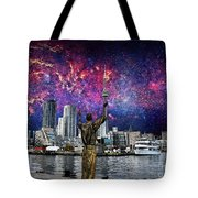 We Are The Stuff Of The Universe Tote Bag