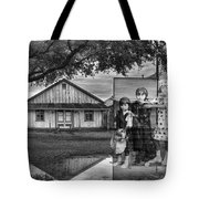 We Belong To This Place Tote Bag