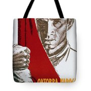 We Carry The Flag Of October Across The Centuries Tote Bag