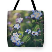 We Lay With The Flowers Tote Bag