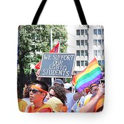 We Support Our Lgbtq Students Tote Bag
