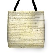 We The People Constitution Page 2 Tote Bag