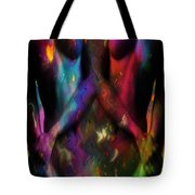 We Two Are One Oil Tote Bag