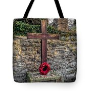 We Will Remember Tote Bag by Adrian Evans