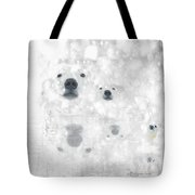 Weather Forcast - Snow - Featured In Cards For All Occasions Group Tote Bag