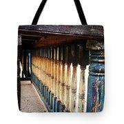 Weathered Bar Tote Bag