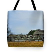 Weathered Barns Tote Bag by Alys Caviness-Gober