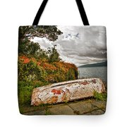 Weathered Boat Tote Bag