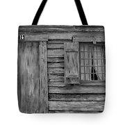 Weathered Door And Window 1 Tote Bag