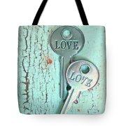 Weathered Love Tote Bag