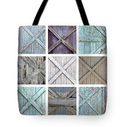 Weathered Paint Tote Bag