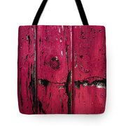 Weathered Red Tote Bag