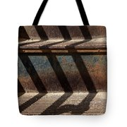 Weathered Stairs Tote Bag